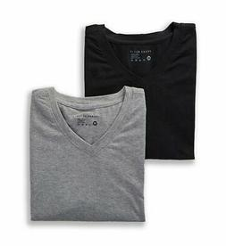 Perry Ellis 210002 Conformity Cotton Stretch V-Neck T Shirts