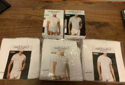 Calvin Klein 3 Pack T Shirt V-Neck or Crewneck Size Small -