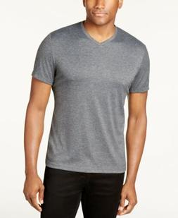 $65 ALFANI Men's GRAY UNDERWEAR V-NECK COTTON UNDERSHIRT T-S