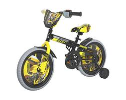 "Dynacraft Transformers Bumble Bee Boys BMX Street Bike 16"","