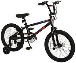 "Mongoose Boys Switch 18"" Wheel Bicycle, Black"