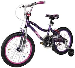 "Monster High Dynacraft Girls BMX Street/Dirt Bike 18"", Black"