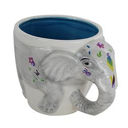 TMD Holdings EEE0504 Festive 3D Indian Elephant Hand Painted