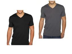 Next Level Apparel 6440 Mens Premium Fitted Sueded V-Neck Te