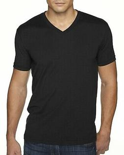 Next Level Apparel Mens T-Shirt Sueded V Neck 6440 Short Sle