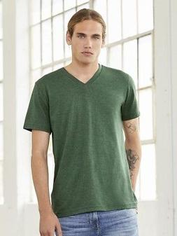 Bella + Canvas - Unisex Triblend Short Sleeve V-Neck Tee - 3