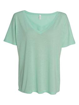 Bella + Canvas - Ladies' Flowy V-Neck Drop-Sleeve Tee - 8815