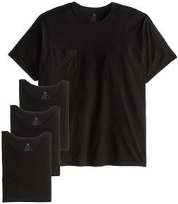 Hanes Men's Big-Tall Assorted Big and Tall Pocket T-Shirt, B
