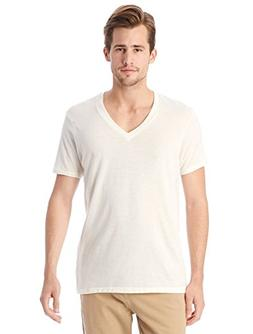 Alternative Men's Boss V-Neck, Ivory, Medium