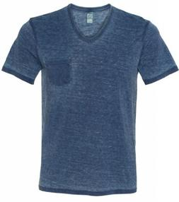 burnout v neck t shirt