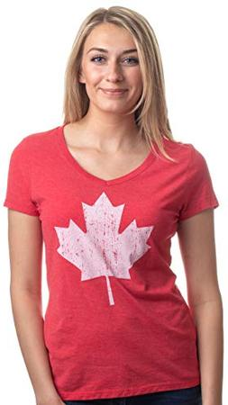 Canada Pride | Vintage Style, Retro Canadian Maple Leaf Wome