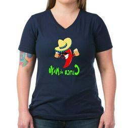 cinco de mayo women s v neck