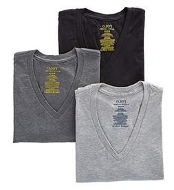 Polo Ralph Lauren Classic Fit Cotton T-Shirts 3-Pack, M, Bla