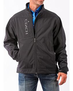 Cinch Men's Concealed Carry Bonded Jacket Black Large