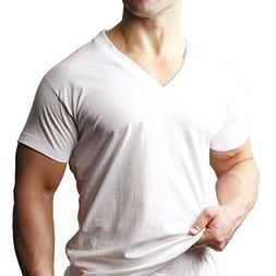 Players Tall Man's 100% Cotton V-Neck 2-Pack # 600 PL600-XLT