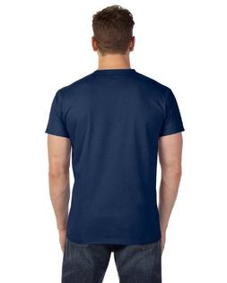 Hanes Men's Premium Cotton V-Neck T-Shirt