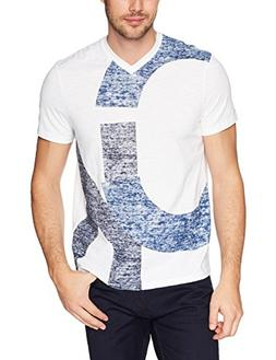 Calvin Klein Jeans Men's Short Sleeve T-Shirt V-Neck with CK