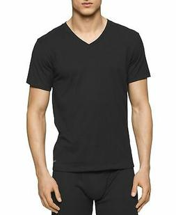 Calvin Klein Jeans NEW Deep Black Mens Size 2XLT V Neck Tee