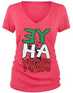 junior s yeah buddy v neck t