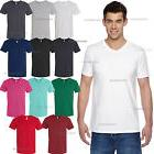 Fruit of the Loom - 100% sofspun cotton Sofspun Men's V-Neck