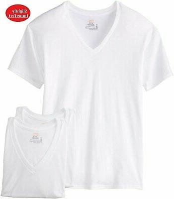 3 men comfortsoft v neck t shirt