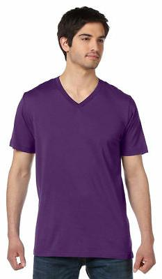 Bella+Canvas Men's Jersey V-Neck T-Shirt Premium Fit Soft Ba
