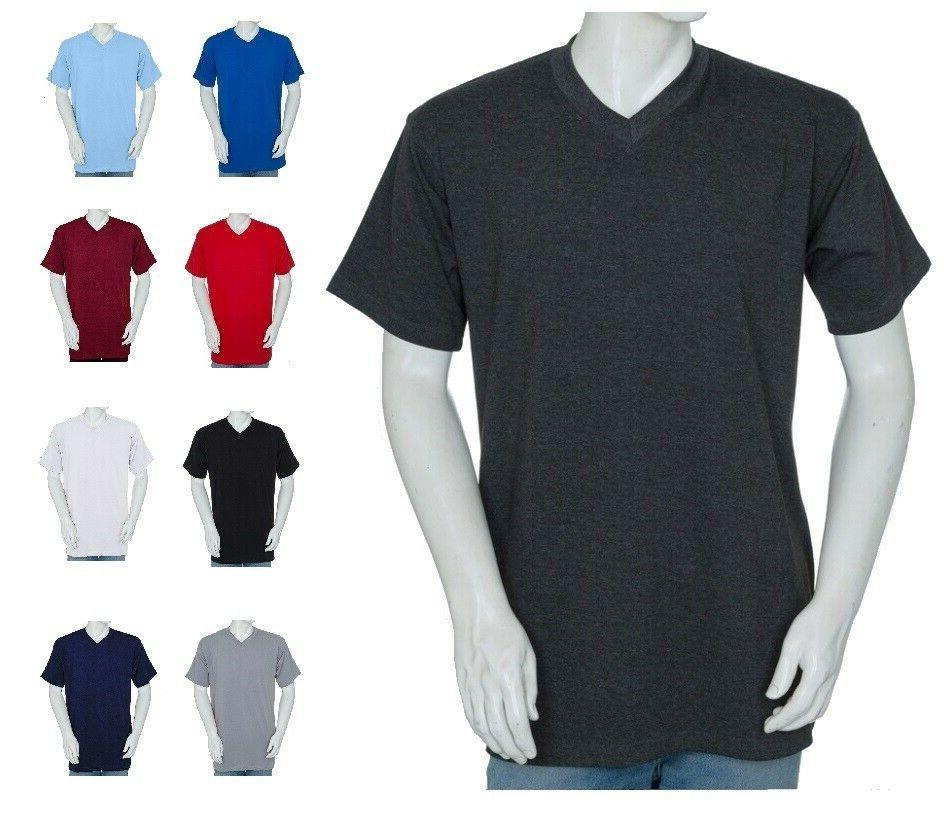 big and tall v neck t shirts