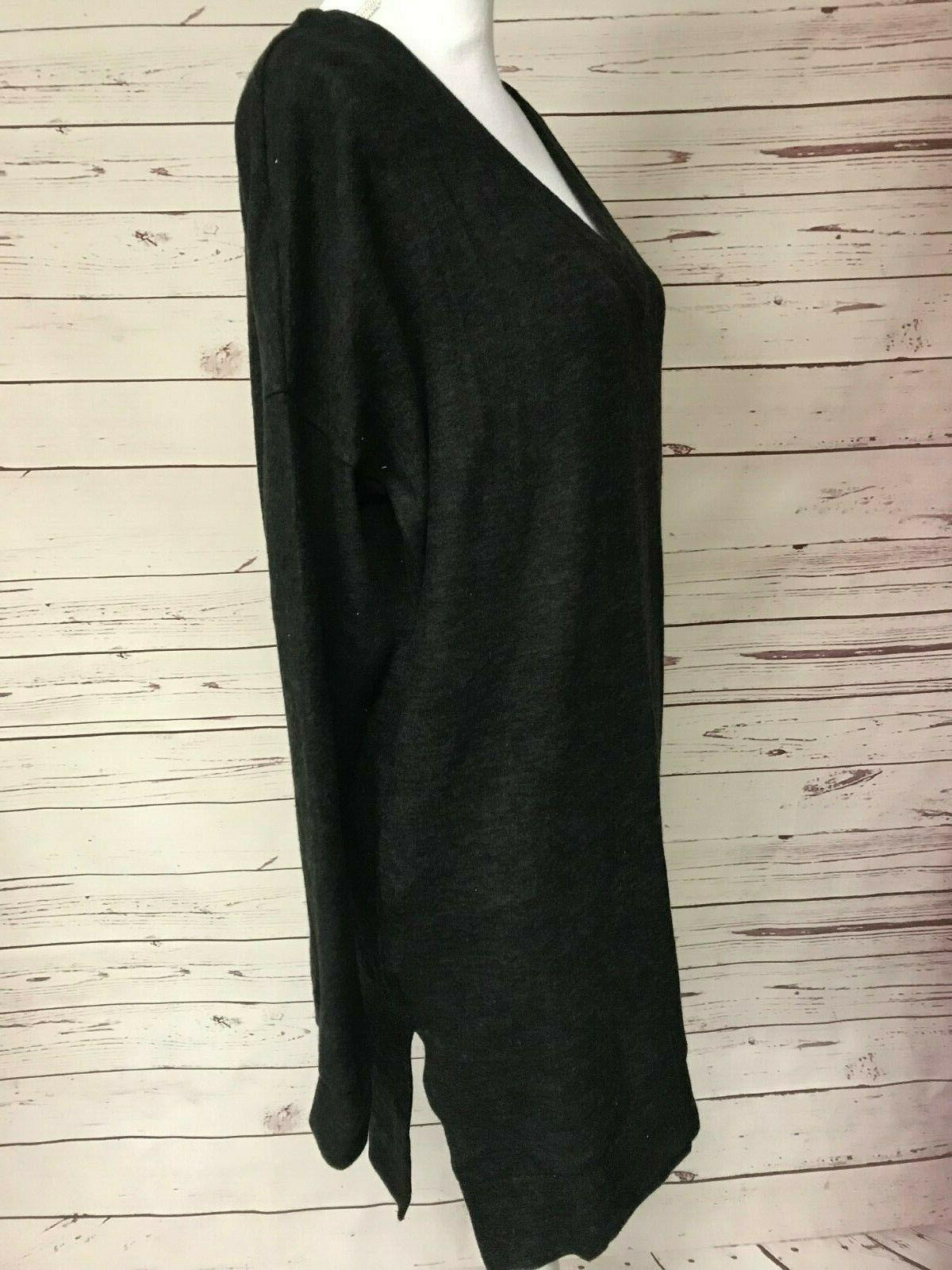 Zenana Outfitters Black Sweater Tunic Boutique Top S L XL