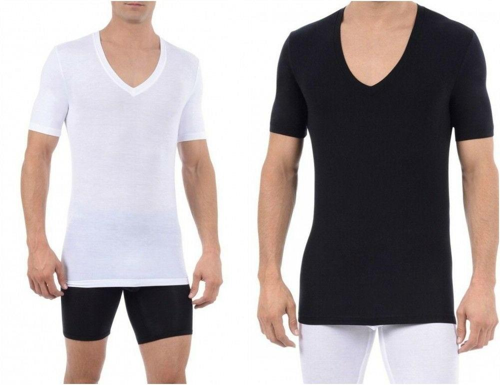 cool cotton v neck t shirt mens