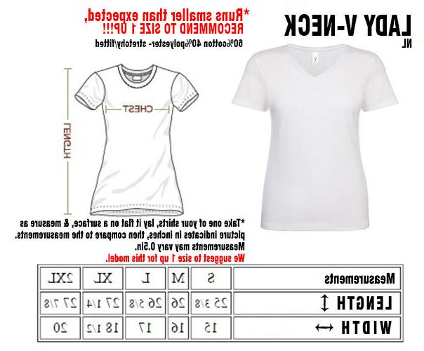 shirts Women's V 100 % tee ADD Name/Number