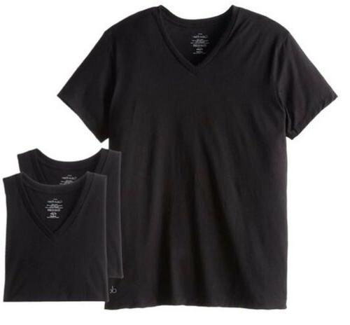 Calvin Klein Cotton Classic 3 Pack V Neck T-Shirt