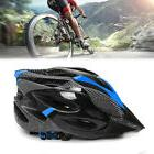 Cycling Bicycle Helmet Adult Bike Blue Carbon Mountain Safet