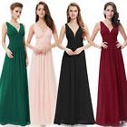 Ever-Pretty Sleeveless V-Neck Semi-Formal Maxi Evening Homec