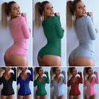 hot womens v neck bodycon sexy sleepwear
