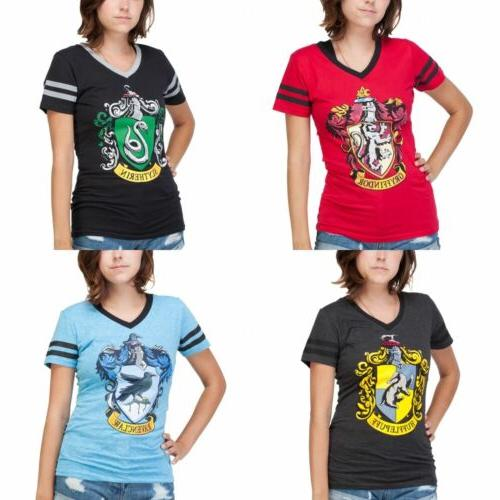 Harry Potter Junior's V-Neck T-Shirt - New Women's Tee