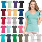 Next Level Ladies Ideal V-Neck T-Shirt Womens Tee S-2XL N154