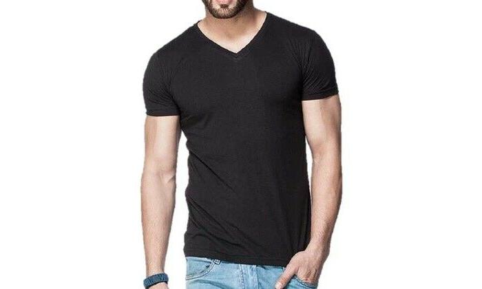Gemrock V T Solid Casual S-4XL
