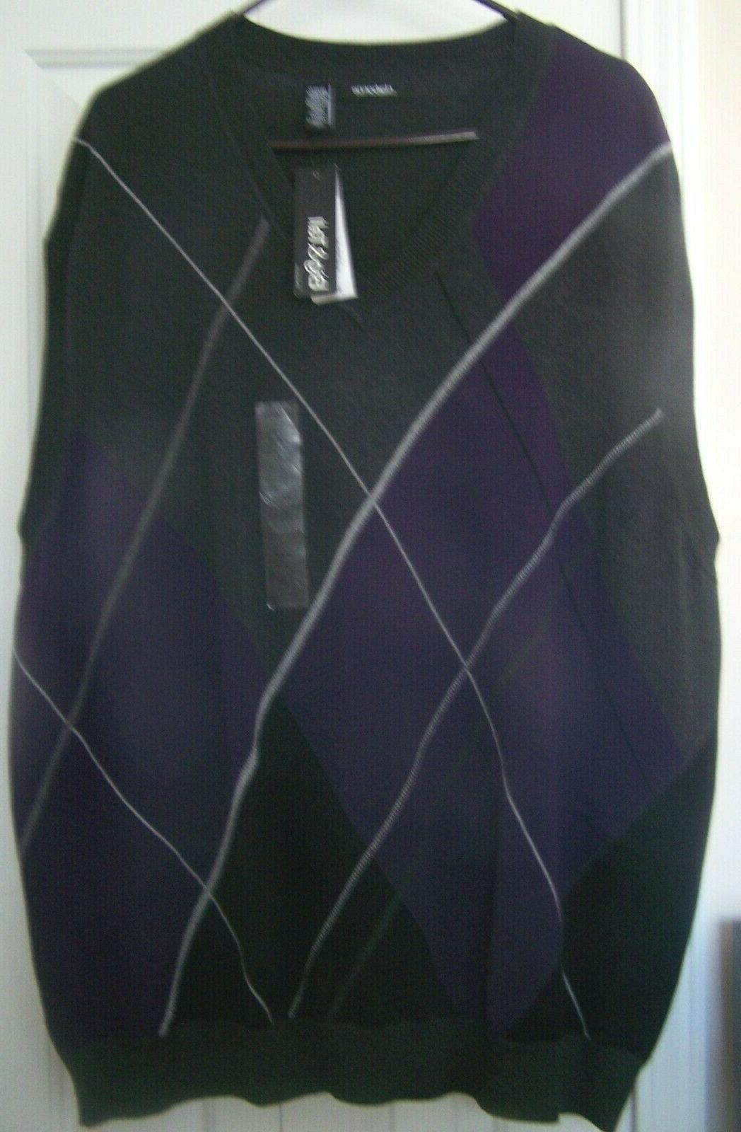 men s 3xlt v neck sweater vest