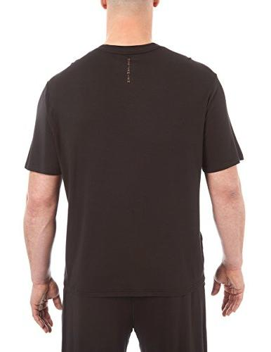 Copper and Tall Essential V-Neck Sleep T-Shirt, Onyx, 2XLT