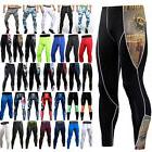 Men's Compression Under Long Pants Base Layer Running Sports