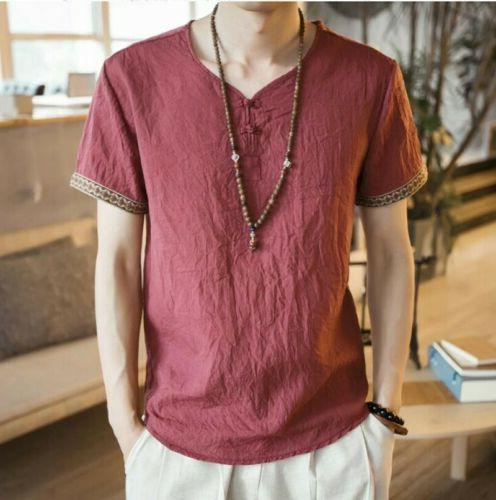 neck style T shirts Casual