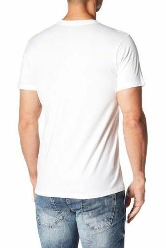 Calvin Mens T shirts V-Neck Crew 3 Pack Fit Undershirts