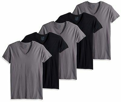 men s v neck t shirt multipack