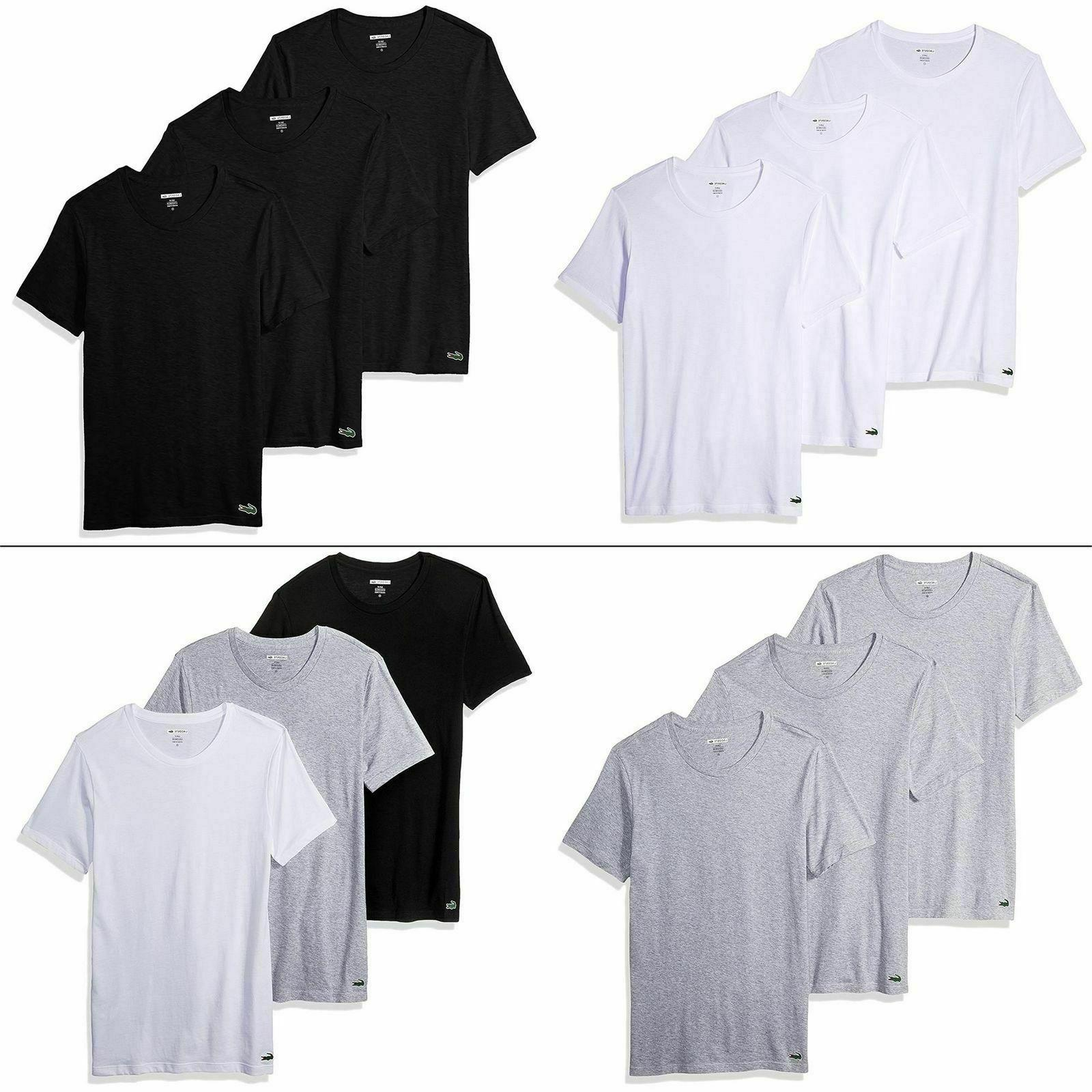 3 Pack V-Neck Crewneck -