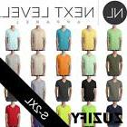 Next Level Apparel Mens CVC V-Neck T-Shirt. 6240
