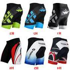 Mens Cycling Bike Shorts 4D Gel Padded Biking Clothing Lycra