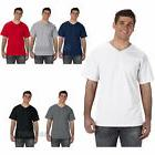 Fruit of the Loom Mens V Neck Heavy Cotton T Shirt Tee S M L