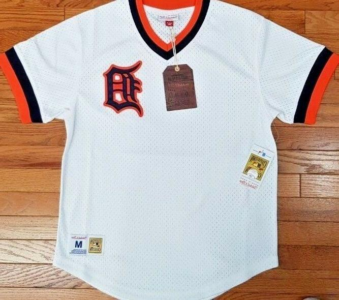 new mitchell and ness detroit tigers white