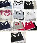 NWT CALVIN KLEIN Women's Bralette Sports Bra Top SET OF 2 Si