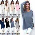 Plus Size Women V Neck Long Sleeve Knitted Pullover Sweater